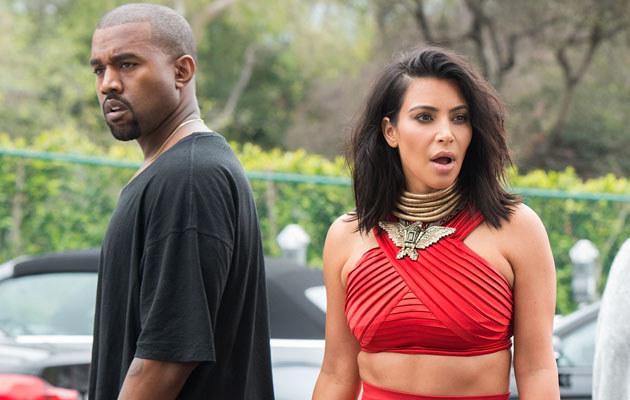 Kim Kardashian i Kanye West /Valerie Macon /Getty Images