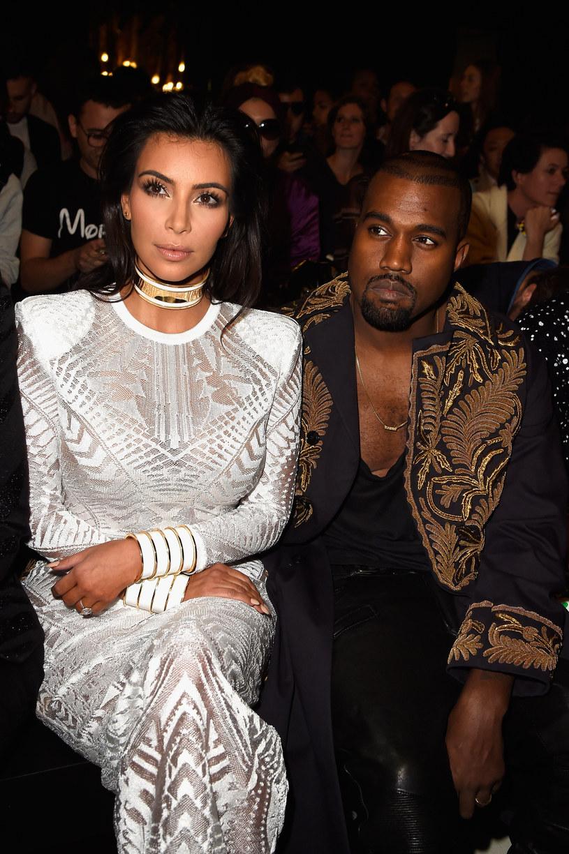 Kim Kardashian i Kanye West /Pascal Le Segretain /Getty Images