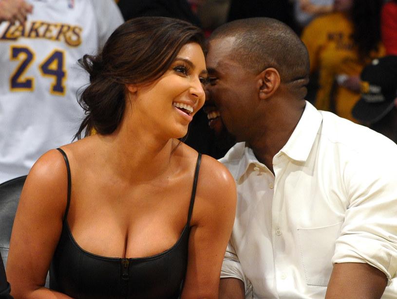 Kim Kardashian i Kanye West /Noel Vasquez /Getty Images