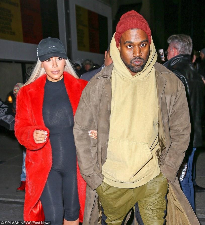 Kim Kardashian i Kanye West /East News