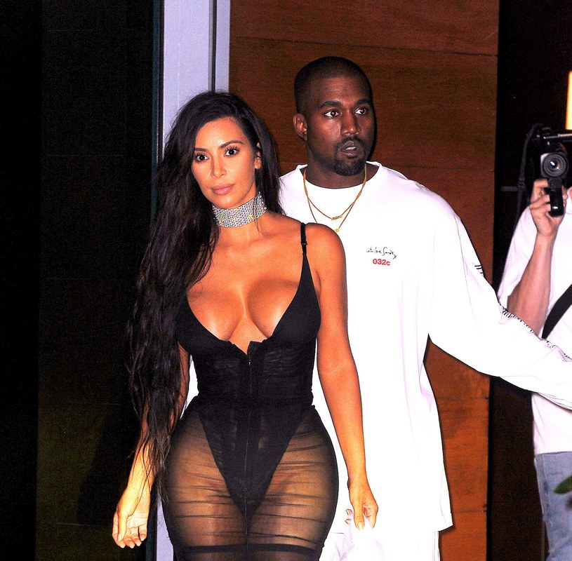 Kim Kardashian i Kanye West /JENY / Splash News/EAST NEWS /East News