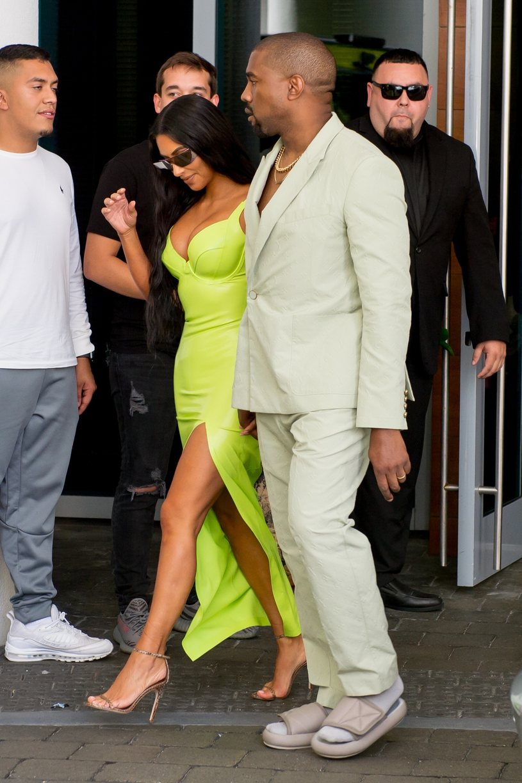 Kim Kardashian i Kanye West /Splash News /East News