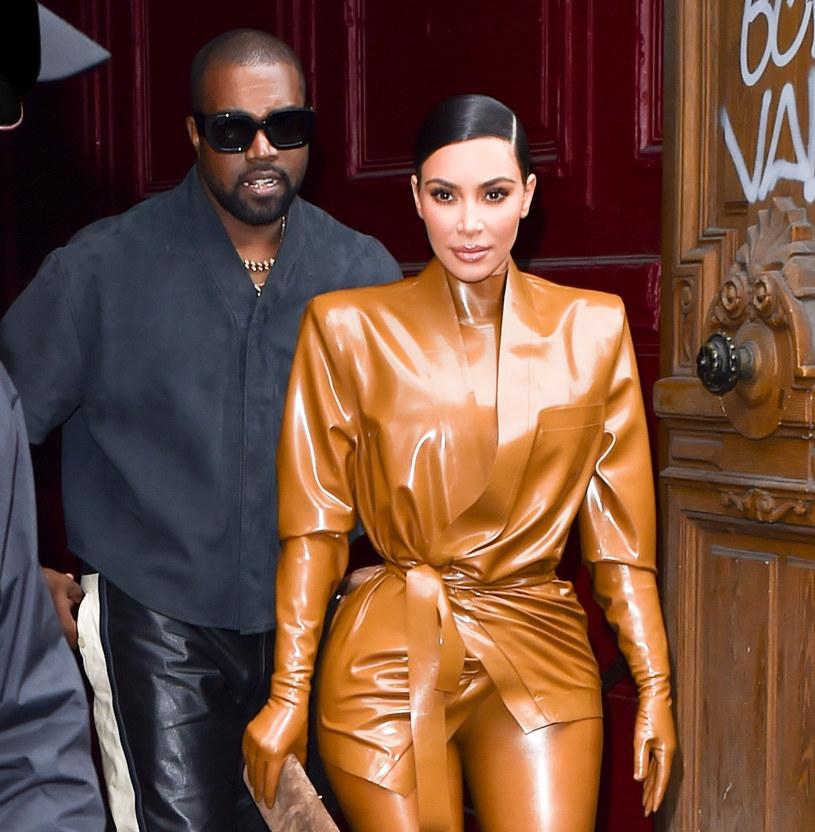 Kim Kardashian i Kanye West /SplashNews.com /East News