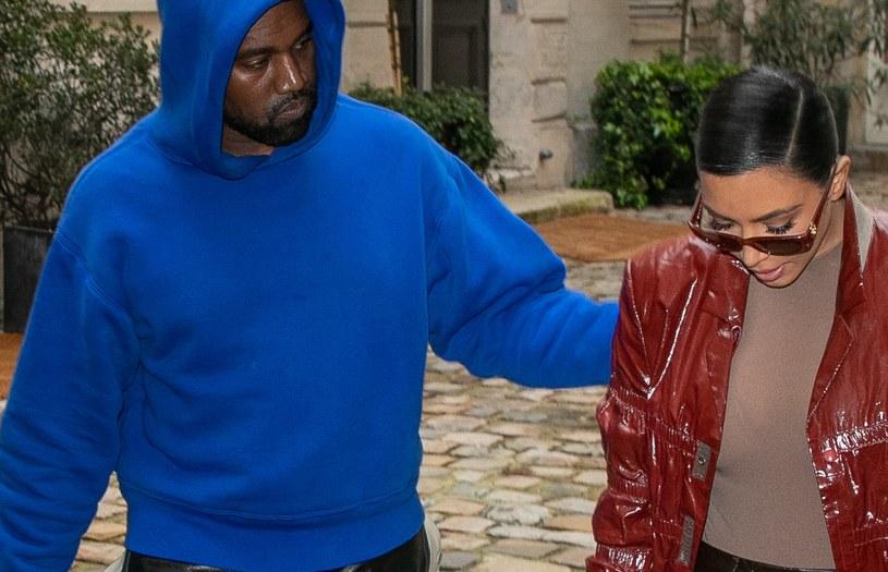 Kim Kardashian i Kanye West /Marc Piasecki /Getty Images
