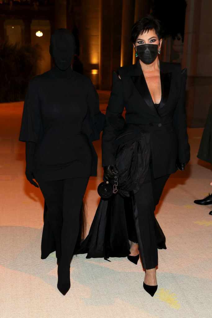 Kim Kardashian i Kris Jenner na Gali MET /Jamie McCarthy/MG21 /Getty Images