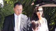 Kim Kardashian już po ślubie
