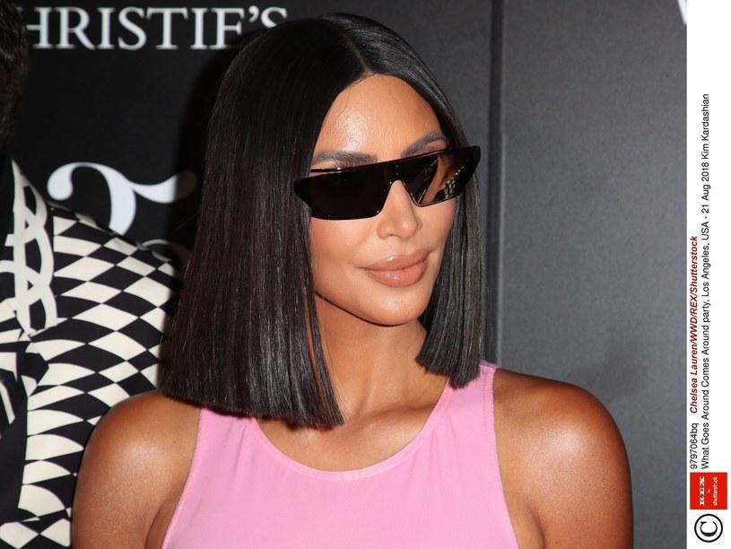 Kim Kardashian lubi eksperymentować ze swoim wizerunkiem /East News