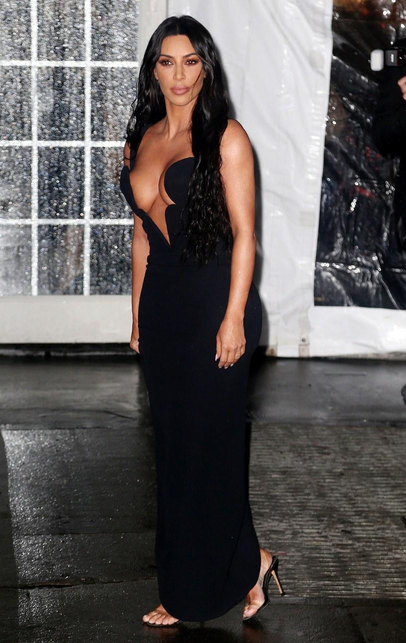 Kim Kardashian na gali amfAr /East News