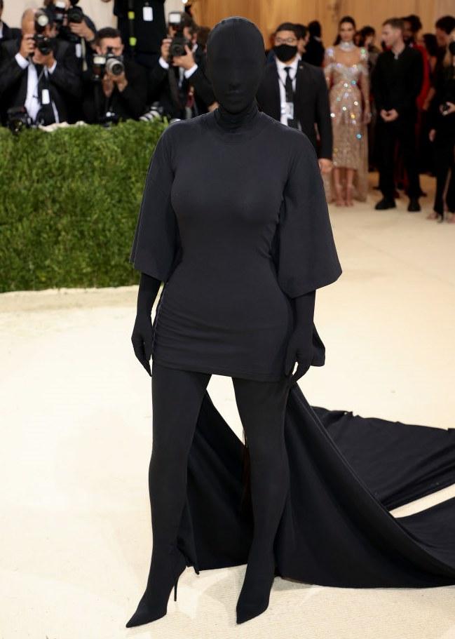 Kim Kardashian na Gali MET 2021 /Dimitrios Kambouris /Getty Images