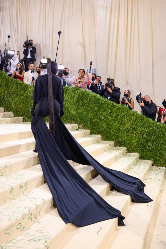 Kim Kardashian na Gali MET /John Shearer /Getty Images