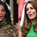 """Kim Kardashian o okrutnych porównaniach do Kate Middleton! """"To zniszczyło moją samoocenę"""""""