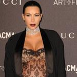 Kim Kardashian pokazała swoje ciało po ciąży! Ale widok!