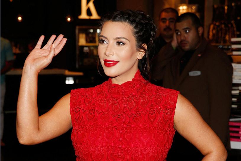 Kim Kardashian urodziła miesiąc przed terminem /Getty Images/Flash Press Media