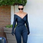 Kim Kardashian w drodze do apteki. Strój robi wrażenie