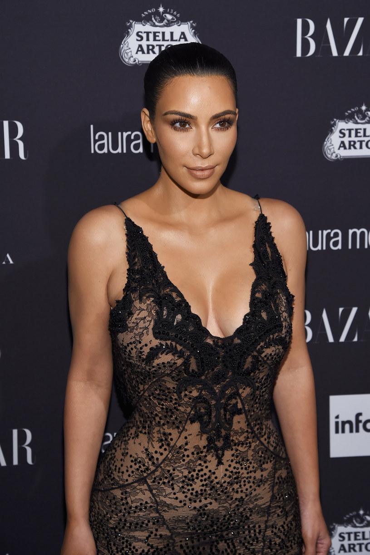 Kim Kardashian wspiera męża w trudnych chwilach /Dimitrios Kambouris /Getty Images