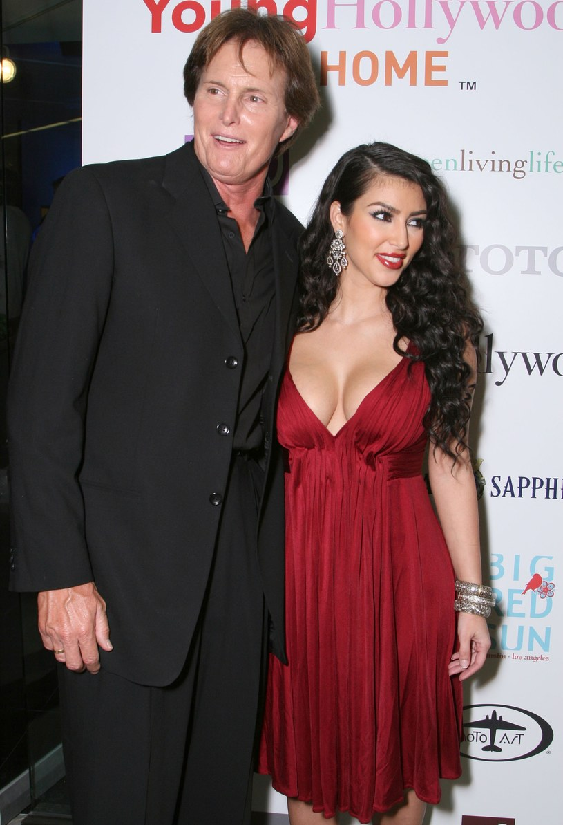 Kim Kardashian wspiera ojczyma /Alberto E. Rodriguez /Getty Images