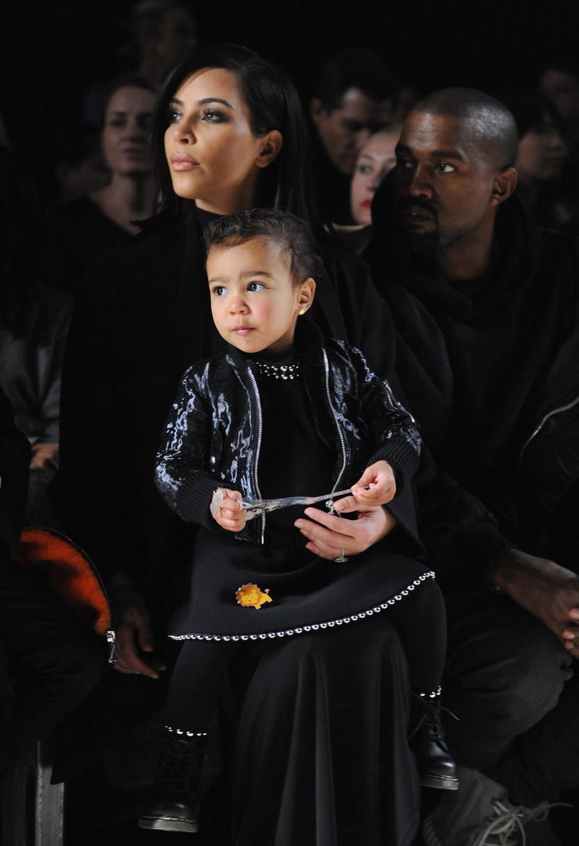 Kim Kardashian z córeczką North /Craig Barritt /Getty Images