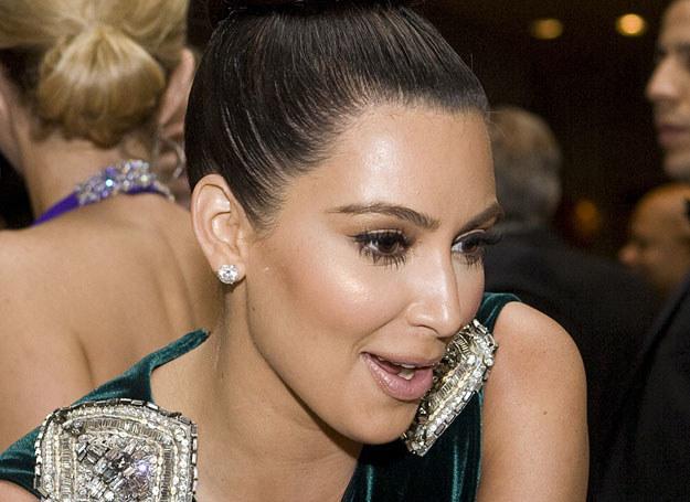 Kim Kardashian zachowała umiar /Getty Images/Flash Press Media