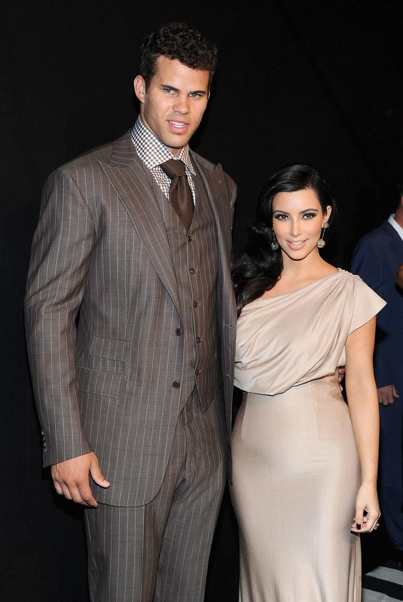 Kim Kardashian zdradziła Krisa Humphriesa /Jamie McCarthy /Getty Images