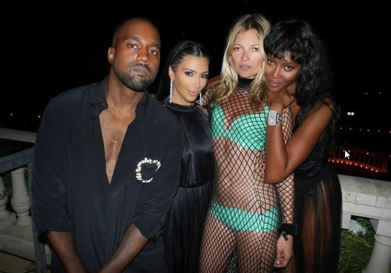 Kim Kardashian zdradziła, że od lat jest fanką Kate Moss /0000001/Reporter /East News
