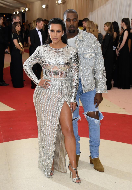 Kim Kardashian została po raz trzeci mamą /Larry Busacca /Getty Images
