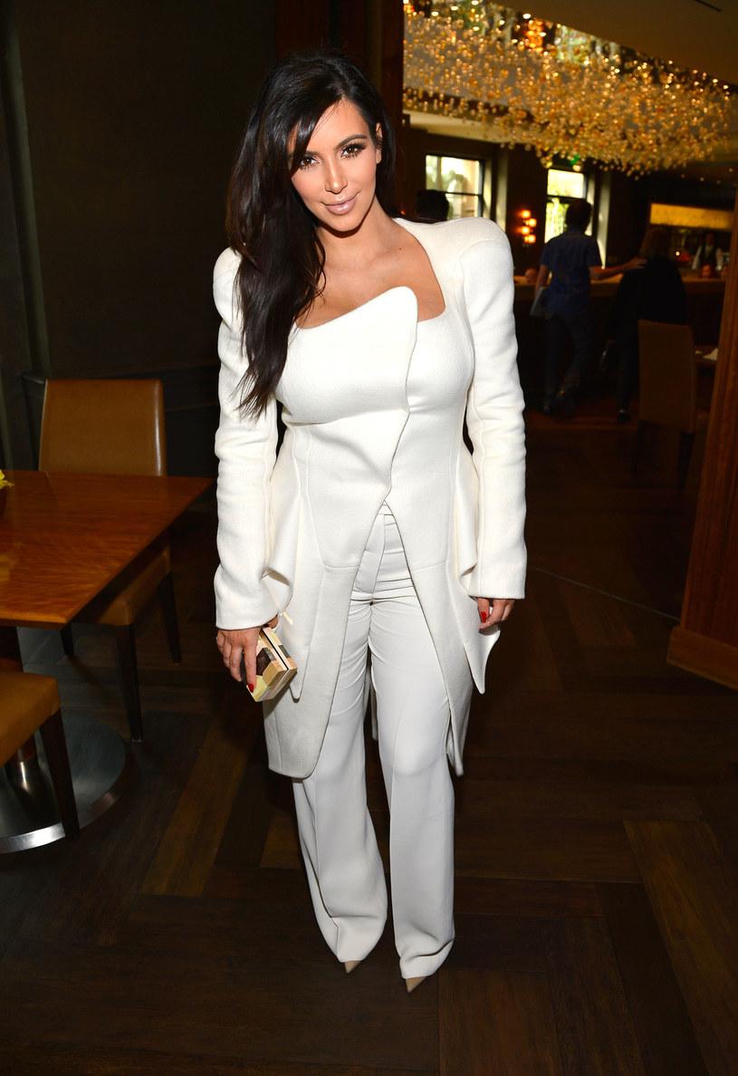 Kim Kardashian /- /Getty Images