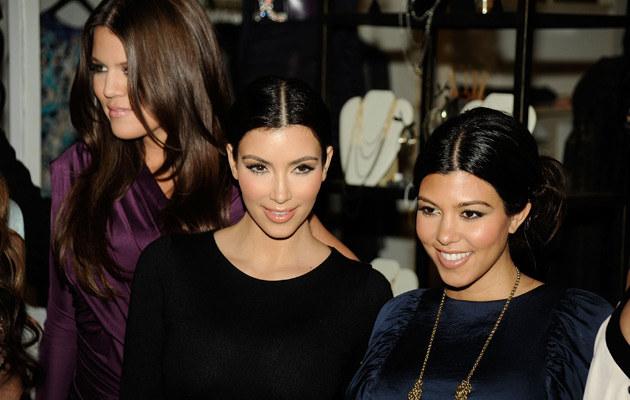 Kim, Khloe i Kourtney Kardashian, fot. Frazer Harrison  /Getty Images/Flash Press Media