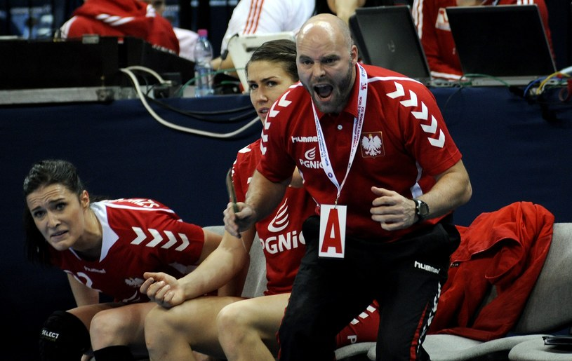 Kim Rasmussen, trener reprezentacji Polski w piłce ręcznej kobiet /PAP/EPA