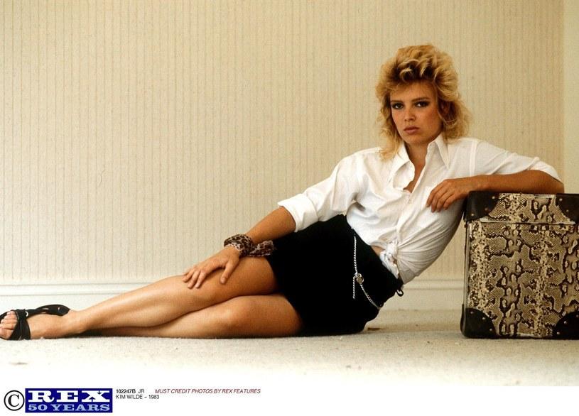 Kim Wilde w latach 80. /Rex Features /East News