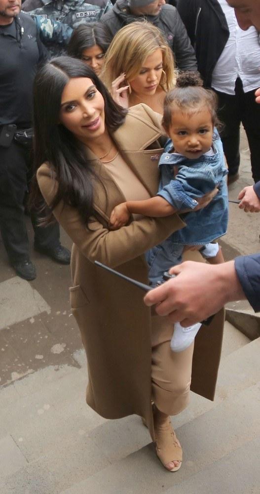 Kim z córką /- /East News