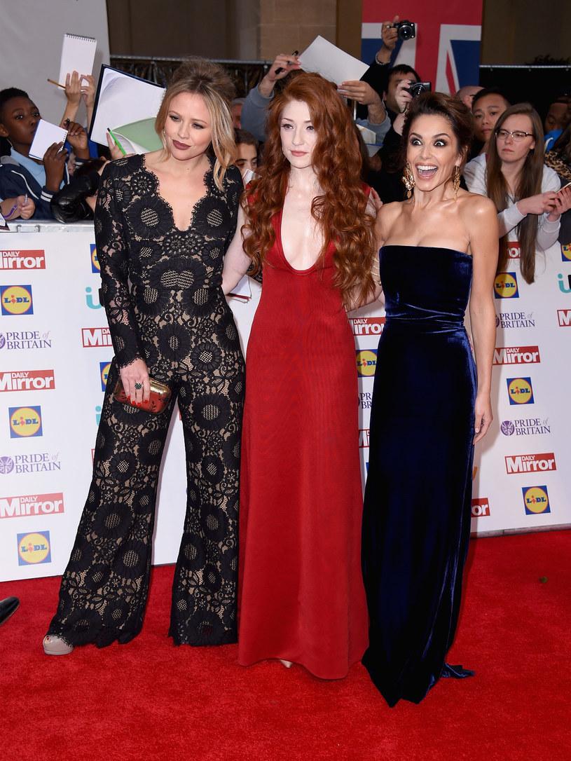 Kimberly Walsh, Nicola Roberts i Cheryl w 2015 roku /Gareth Cattermole /Getty Images