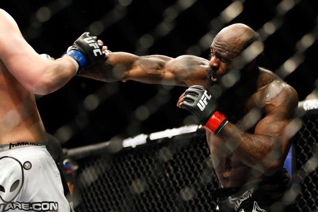 Kimbo Slice dzięki swojej popularności trafił do UFC /AFP