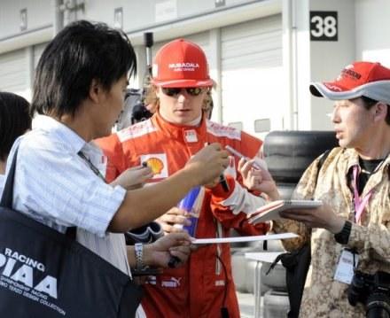 Kimi Raikkonen chce zarabiać za dużo jak na możliwości Japończyków /AFP