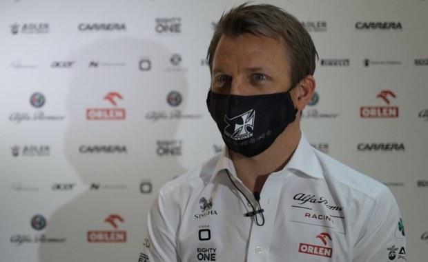 Kimi Raikkonen: Jazda bolidem ciągle daje mi radość