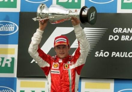 Kimi Raikkonen - mistrz świata Formuły 1 w 2007 roku /AFP