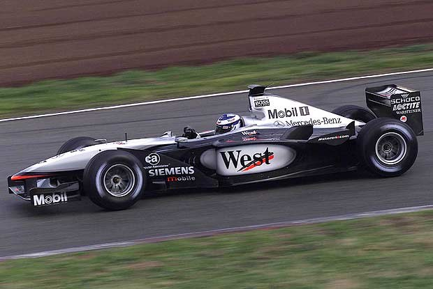 Kimi Raikkonen podczas testów w Barcelonie (kliknij) /INTERIA.PL