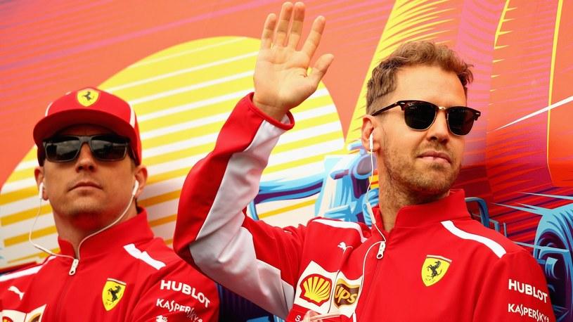 Kimi Räikkönen, Sebastian Vettel (Ferrari) - GP Monaco 2018 /Getty Images