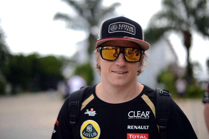 Kimi Raikkonen tryska optymizme /AFP