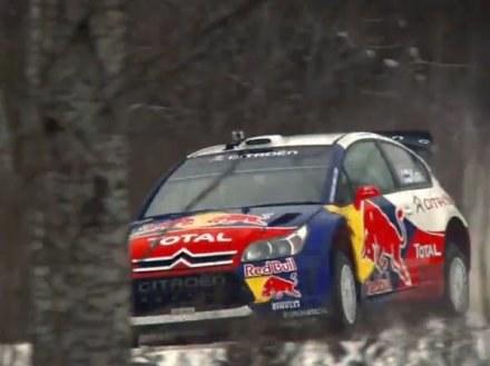 Kimi Raikkonen uderzył w drzewo, ale i tak ukończył OS /