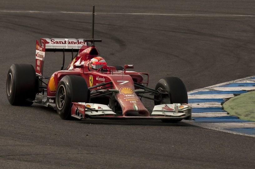 Kimi Raikkonen w Jerez /AFP