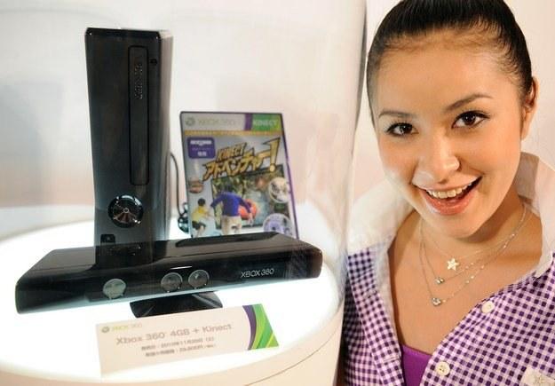 Kinect ma zrobić furorę na całym świecie. Czy odniesie sukces w Polsce? /AFP