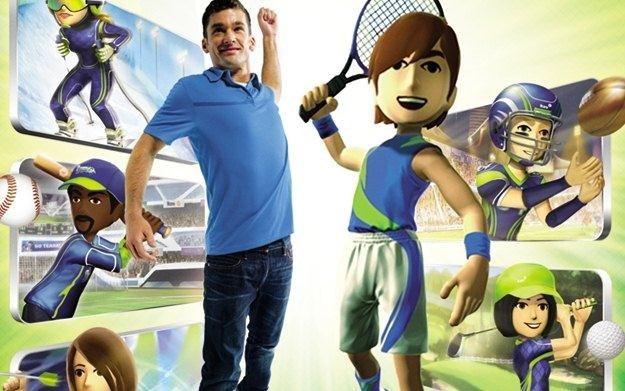Kinect Sports: Season 2 - motyw graficzny /Informacja prasowa