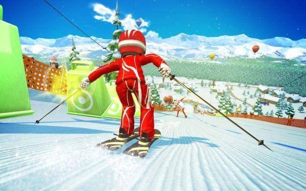 Kinect Sports: Sezon 2 - motyw graficzny /Informacja prasowa