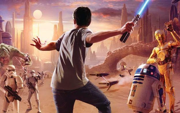 Kinect Star Wars - motyw graficzny /Informacja prasowa