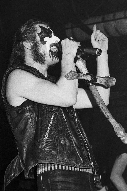 King Diamond w składzie Mercyful Fate w 1993 r. /Lisa Lake /Getty Images