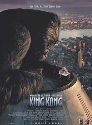 """""""King Kong"""" zarobił od środowej premiery 80.1 milionów dolarów /"""