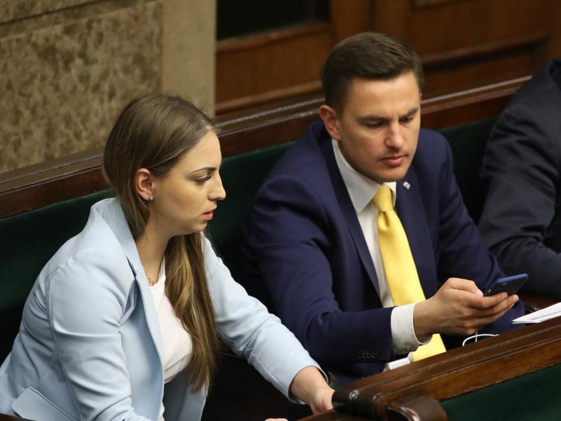 Kinga Gajewska i Arkadiusz Myrcha /STANISLAW KOWALCZUK /East News