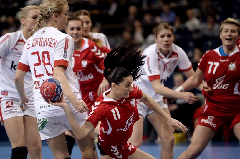 Kinga Grzyb w akcji podczas mistrzostw świata 2013 /AFP