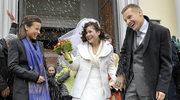 Kinga i Piotrek na ślubnym kobiercu