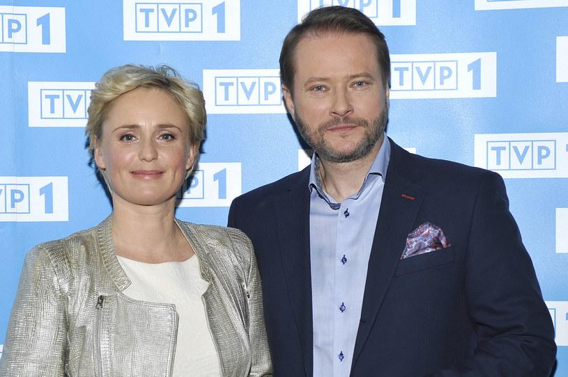 Kinga Preis i Artur Żmijewski - dobrana, ekranowa para /AKPA